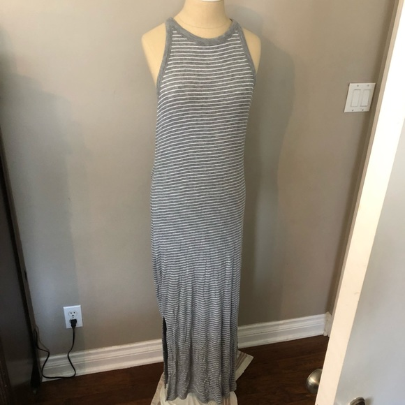 GAP Dresses & Skirts - Large Tall striped tank dress from Gap